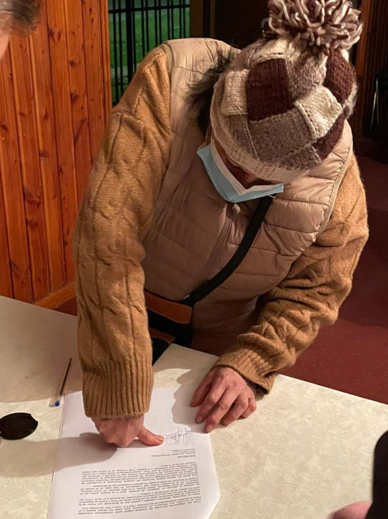 Firma notarial pagaré